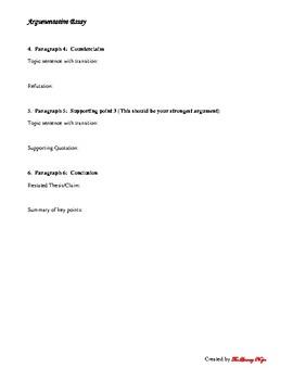 Thoreau Argumentative Essay
