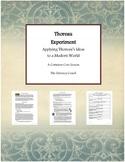 Thoreau Experiment - Applying Thoreau's Ideas to a Modern World