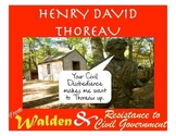 Thoreau- Walden and Resistance to Civil Government Mini-Unit!