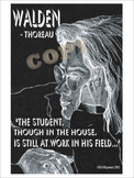 Thoreau's Walden Poster