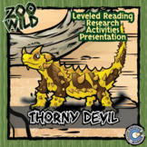 Thorny Devil - 15 Zoo Wild Resources - Leveled Reading, Sl