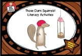 Those Darn Squirrels comprehension activities: 4H reading