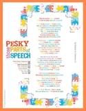 Those Pesky Parts of Speech
