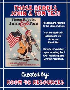 Those Rebels John and Tom Test
