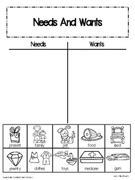 Those Shoes: A Needs and Wants Social Studies Unit for Kindergarten