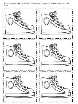Those Shoes - Activities to Support the Text