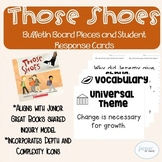 Those Shoes - Bulletin Board Headings and Student Response Cards