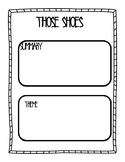 Those Shoes Exit Ticket