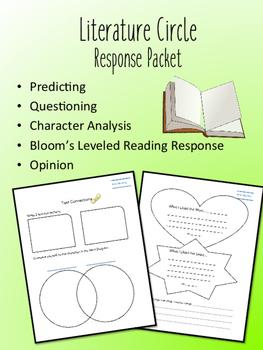 Those Shoes Literature Circle Response Packet- Book Club- NOVEL STUDY!