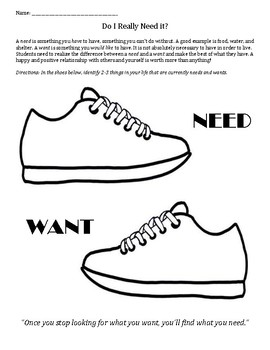Those Shoes: Wants vs. Needs