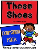Those Shoes by Maribeth Boelts {PRINT AND GO Companion Pack}