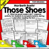 Those Shoes by Maribeth Boelts |Reading Response|3rd-4th Grade