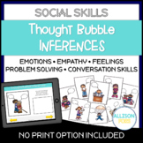 Thought Bubble Social Inferences and Problem Solving
