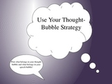 Thought Bubble Strategy Game! Thought Organization, Impulsive Answering
