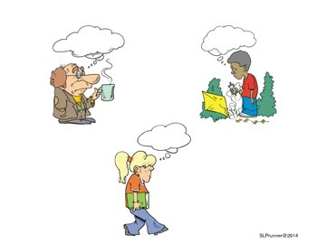 Thought Bubbles!  Freebie!!!