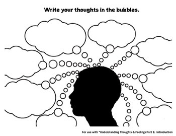 Thought Bubbles Worksheet