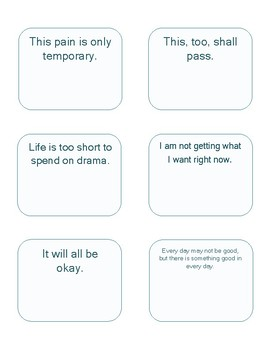 Thought Cards