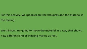 Thought Creates Feelings