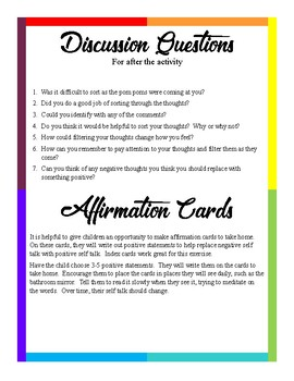 Thought Filtering CBT Counseling Game