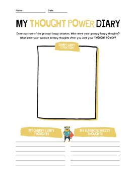 Thought Power! Worksheet
