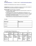 Thought Tracker   Interactive Handout For Analyzing Live Performances