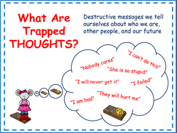 Thought Traps: Cognitive Behavioral Therapy (CBT) Worksheets