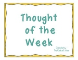 Thought of the Week