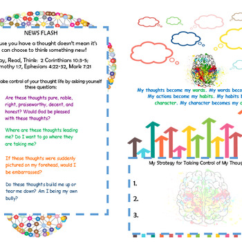 ThoughtLife Bible Study Graphic Organizers