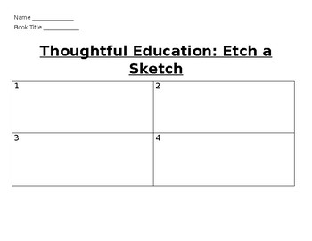 Thoughtful Education: Etch a Sketch