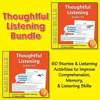 Thoughtful Listening {Bundle}
