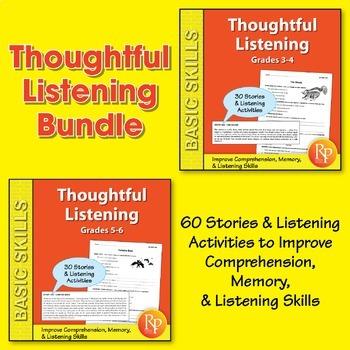 Thoughtful Listening {Bundle}