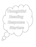 Thoughtful Reading Response Starters