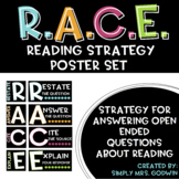R.A.C.E. Reading Strategy Poster