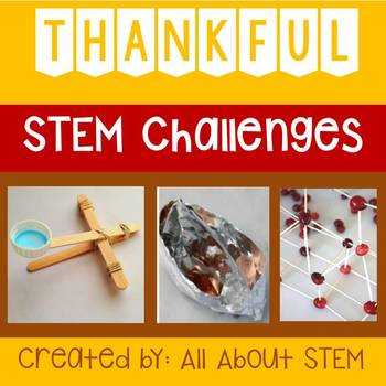 Thoughtful Thanksgiving STEM Challenges
