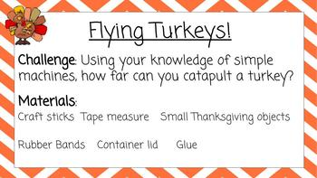 NGSS Aligned: Thoughtful Thanksgiving STEM Challenges