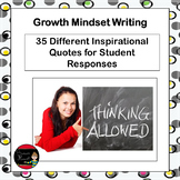 Growth Mindset Writing