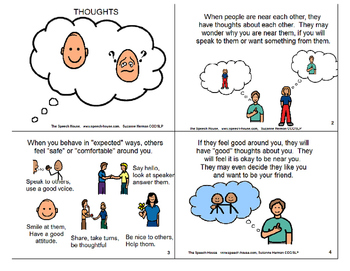 Thoughts Social Story