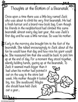 Thoughts from the Bottom of the Beanstalk, a poem to help Mom say Good-bye