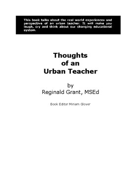 Thoughts of An Urban Teacher..What do you do when..