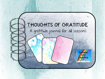 Gratitude Journal Good for Distance Learning