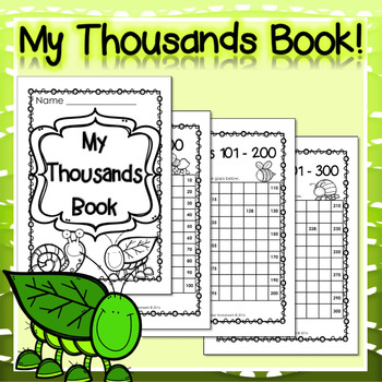 Thousands Book /Count to One Thousand /Numbers to 1000 /Fi