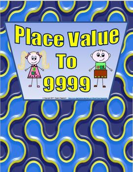 Thousands, Hundreds, Tens, and Ones - Place Value to 9999 Worksheets