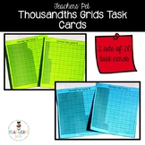 Thousandths Grid Task Cards