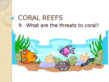 Coral Reef Threats Worksheets & Teaching Resources   TpT