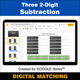 Three 2-Digit Subtraction - Google Slides - Distance Learn