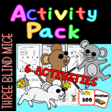 Three (3) Blind Mice Activity Pack 6 Activities - book, cr