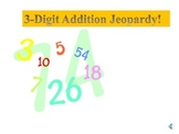 Three (3) Digit Addition Math Jeopardy Game