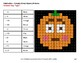 Three 3-Digit Subtraction - Color-By-Number PUMPKIN EMOJI Mystery Pictures