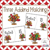 Three Addend Matching