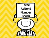 Three Addend Number Bonds